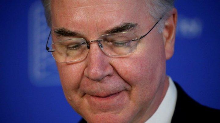 Министр здравоохранения США ушел в отставку со скандалом