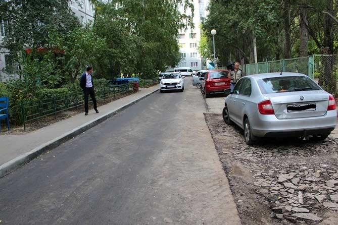 14-09-2017: Сергей Анташев проинспектировал отремонтированные дороги