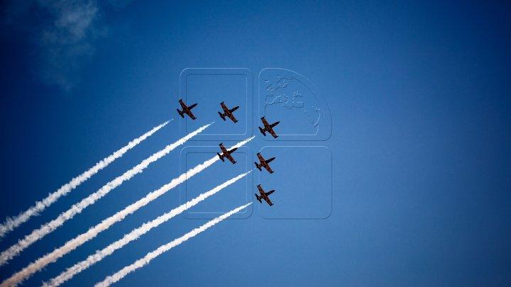 В Кишинёве с размахом отметили 73-ю годовщину гражданской авиации