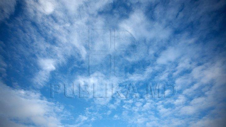 13 сентября в Молдове переменная облачность, без осадков