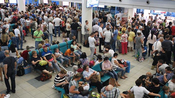 В аэропортах Москвы отменены или задержаны более 50 рейсов
