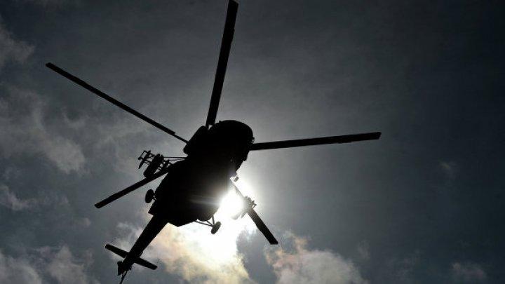 В Бельгии упал вертолёт, четыре человека пострадали