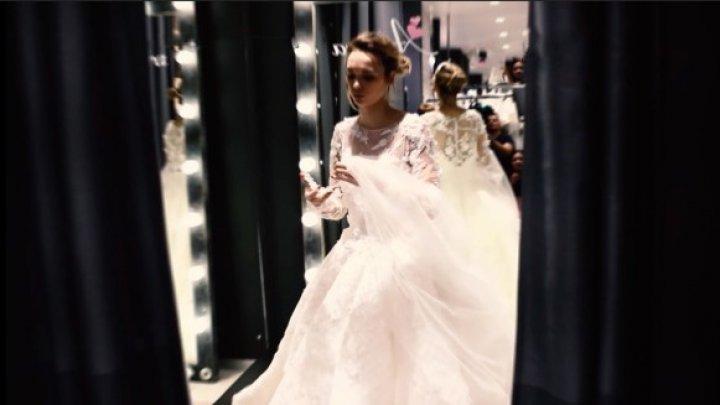 Роскошная Шурыгина показала свадебное платье