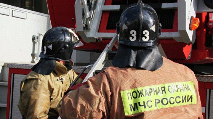 Пожар на складе в Москве потушили