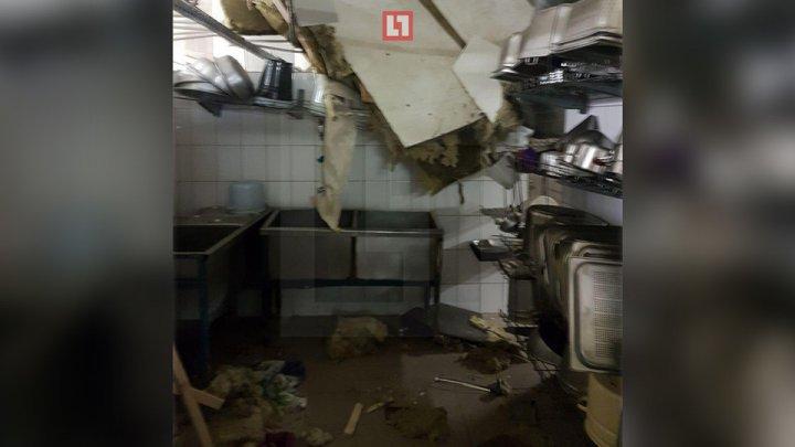 В Москве под участниками квеста провалился пол