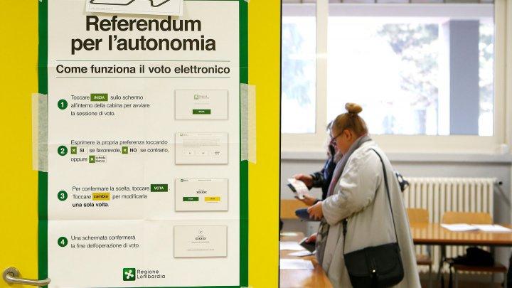 Два крупных региона Италии начали референдум о расширении автономии