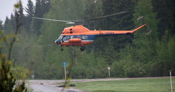 Кировчане пожаловались в прокуратуру области на шум от вертолета в ночное время
