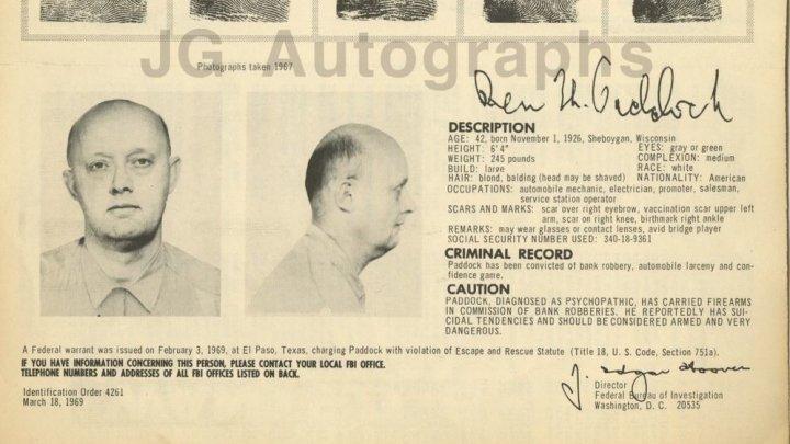 Отец стрелка из Лас-Вегаса числился в списке 10 самых разыскиваемых ФБР преступников