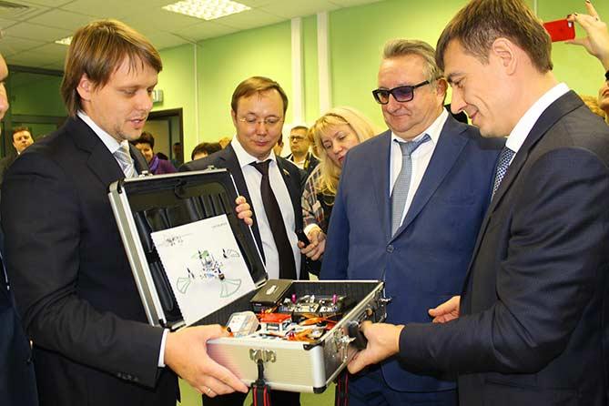17-10-2017: В Тольятти состоялось открытие детского технопарка «Кванториум»
