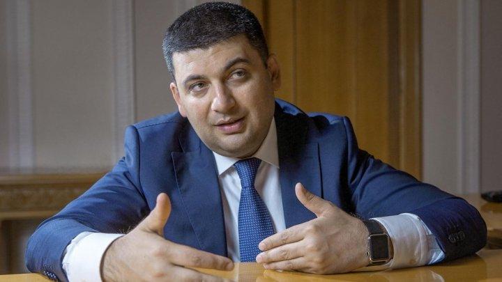 В Молдову с официальным визитом сегодня прибывает премьер-министр Украины Владимир Гройсман