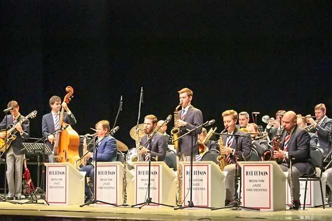 Игорь Бутман выступил с Московским государственным джазовым оркестром