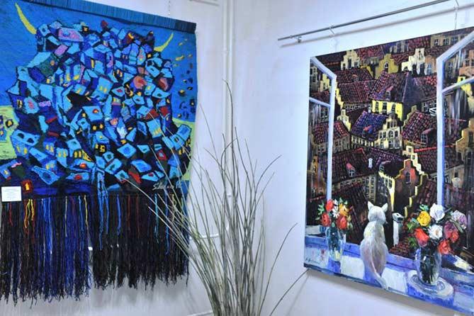 В Комсомольском районе Тольятти открылась картинная галерея
