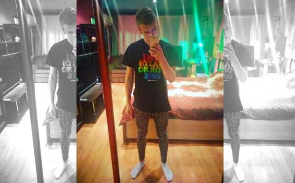 Кировский активист Алекс Благоденский предложил парням ходить в лосинах