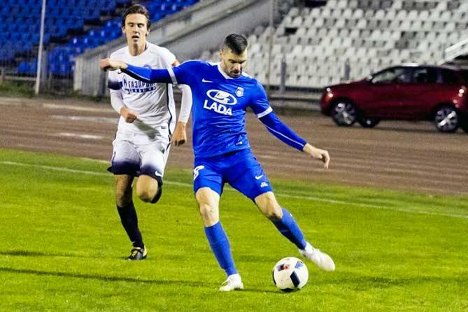Футболисты «ЛАДА-Тольятти» впервые в сезоне поделили очки с соперником