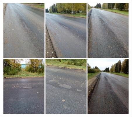 Московское качество: на дороге «Киров-Русское» дефекты начали образовываться, не дожидаясь весны