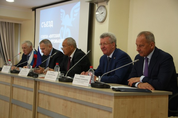 Николая Липатникова вновь выбрали президентом Вятской ТПП