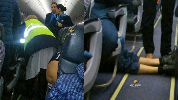 В аэропорту Красноярска на борту самолета умер пассажир