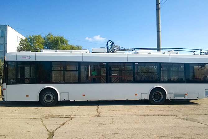 Тольятти получит 40 новых троллейбусов до 1 ноября 2017 года