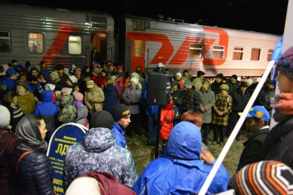 По Кировской области прошёл поезд помощи ЛДПР