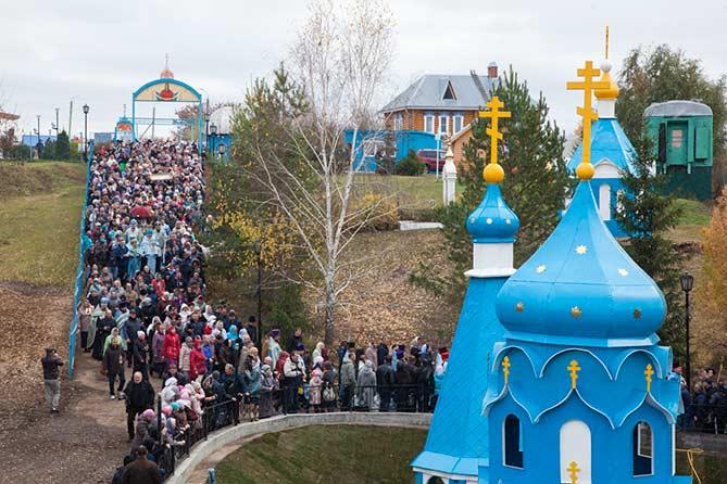 В селе Ташла прошло празднование 100-летия чудотворной иконы