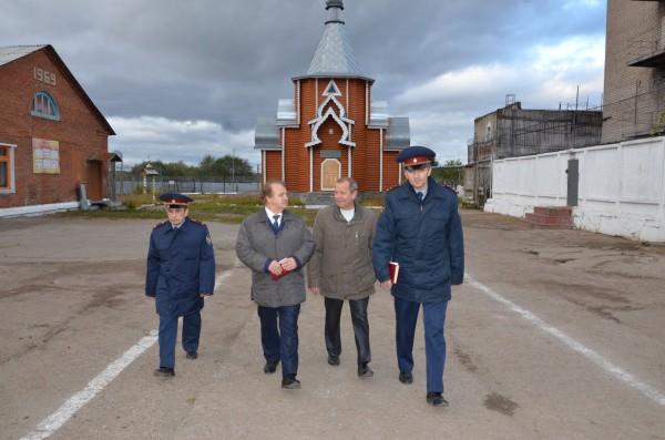 Представитель Общественного совета ФСИН России Алексей Лобарев посетил УФСИН России по Кировской области