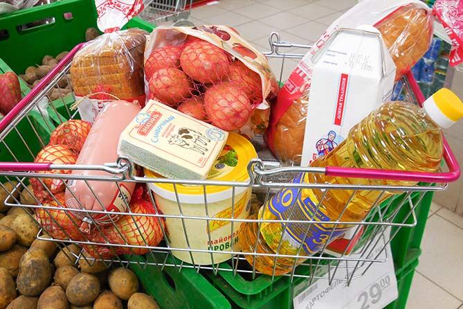 Сколько мы тратим на продукты