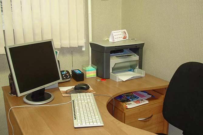 Не оставляйте рабочий кабинет пустым