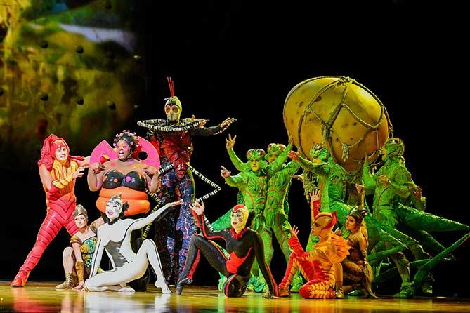 Цирк дю солей в Тольятти в 2018 году: Шоу для семейной аудитории