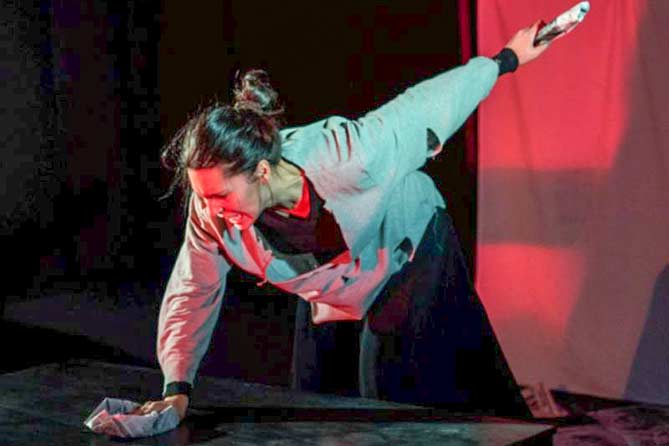 В театре «Дилижанс» прошел премьерный спектакль «Долорес Клейборн»