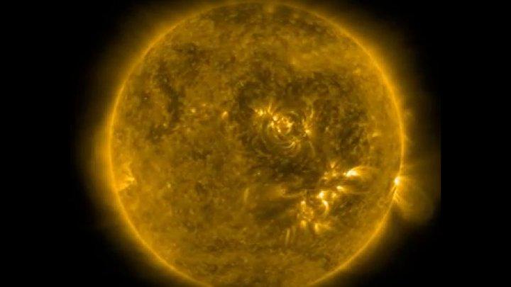 На Солнце заметили «темное сердце»: видео