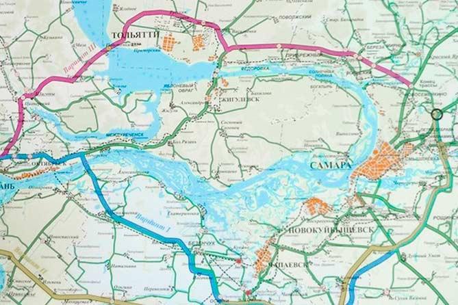 Трасса от Климовки до М-5 будет проходить по Обводному шоссе