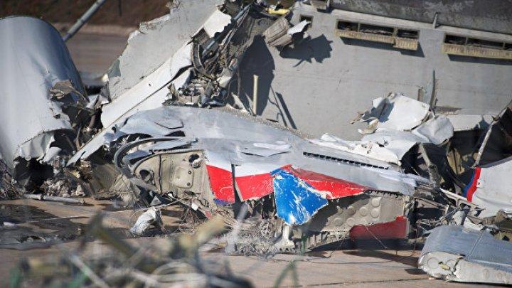 В сети появилось видео с места столкновения самолета и вертолета в Англии