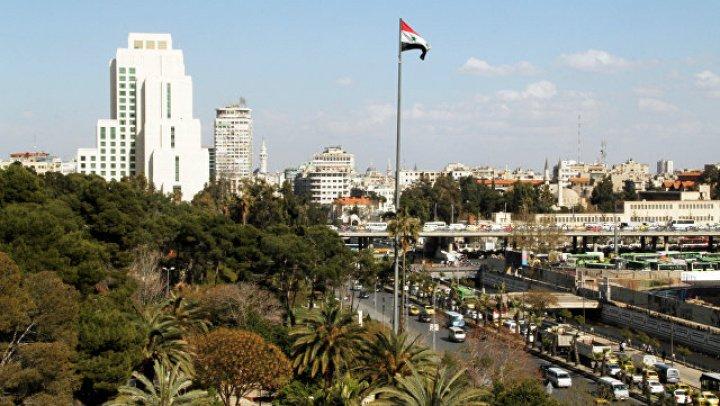 Боевики обстреляли район рядом с российским посольством в Дамаске