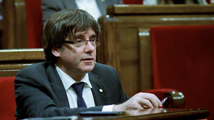 Бывший лидер Каталонии сдался бельгийской полиции