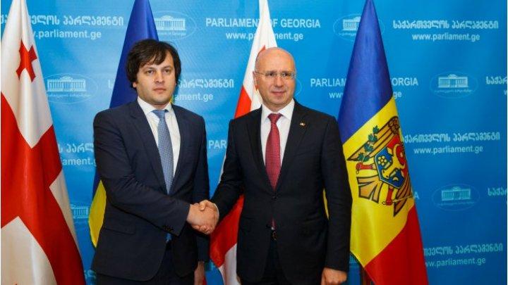 Молдова и Грузия объединят усилия в прохождении европейского пути