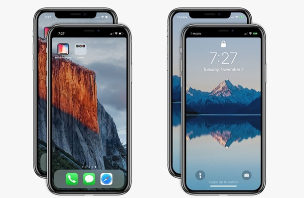 Появилось приложение для удаления «выреза» iPhone X