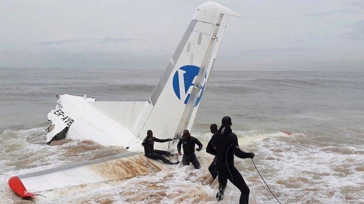 Чёрные ящики с молдавского самолета, разбившегося в Кот-д'Ивуаре, доставят в Киев
