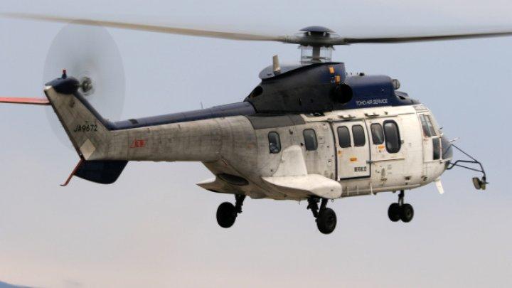 В Японии потерпел крушение вертолет, погибли четыре человека