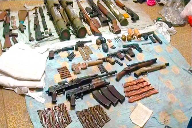 Полиция предлагает жителям сдать незаконно хранящееся оружие за вознаграждение