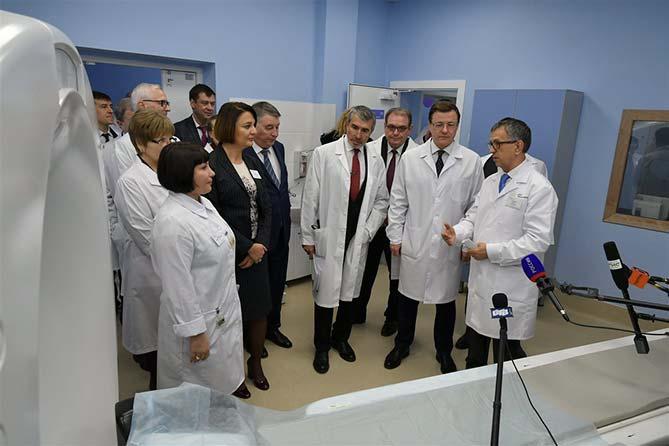 27-11-2017: В Тольятти открылся высокотехнологичный центр диагностики онкозаболеваний