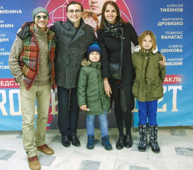 Фото: Сергей Безруков впервые показал своих внебрачных детей