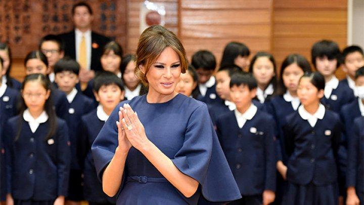 Японский император заставил Меланию Трамп выглядеть скромнее