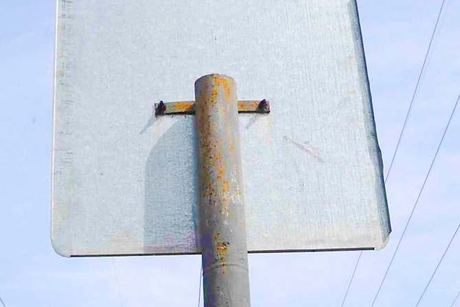 Куда исчезли дорожные знаки