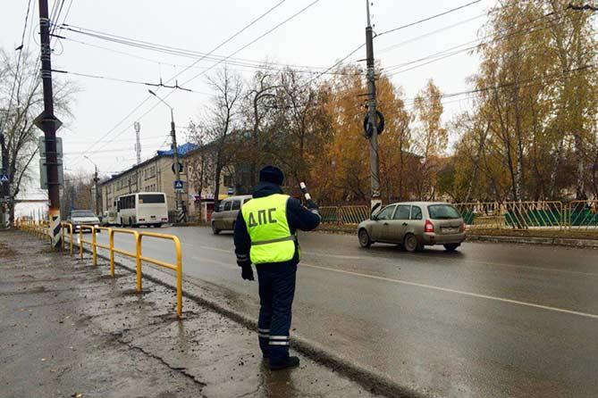 Рейды ГИБДД в Тольятти в ноябре 2017 года: