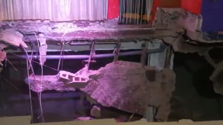 Появилось видео обрушения танцпола во время шоу в Тенерифе