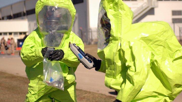 Полиция в Оксфорде перекрыла улицу из-за возможной утечки химикатов
