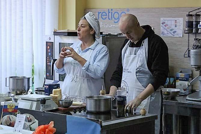 В Тольятти прошли мастер-классы итальянских поваров-профессионалов