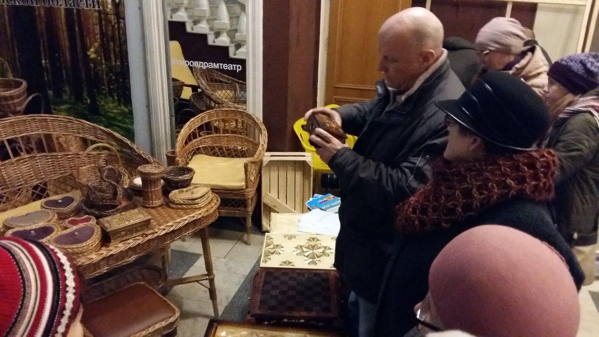 Изделия исправительных учреждений Кировской области приняли участие в межрегиональном фестивале «Кладовая ремесел»