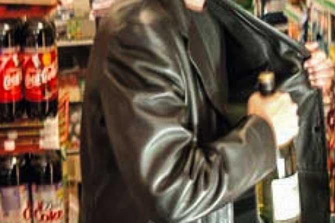 Подозреваемый в краже вермута из магазина