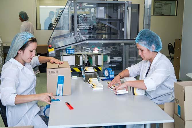 Торжественное открытие фармацевтического завода «Озон Фарм» в Тольятти